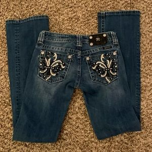Miss Me bootcut jeans pants size 26